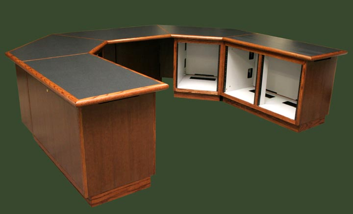 On Air Furniture, Broadcast Furniture, Broadcast Consoles,radio Production  Furniture,studio Furniture
